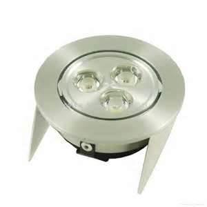 China 60Hz IP20 recessed 3pcs Bridgelux high power led ceiling spotlight with UL / RoHS on sale