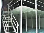 O aço estrutural aumentou o assoalho de mezanino do armazenamento, 1 nível/2 níveis/3 níveis