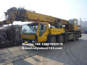 China Used 50ton XCMG Truck Crane-used mobile crane,used hydraulic crane QY50K on sale