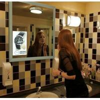 Interactive Magic Mirror LCD Digital Signage / High Definition Wall Mount Full HD Display