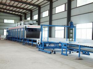 China EPE Foam / Polyurethane Sponge Block Cutting Machine With Vacuum Working Table on sale