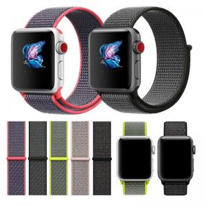 China wholesale For Apple Watch Band 38MM 42MM Nylon Soft Breathable Nylon I Watch Replacement Band Sport Loop for Apple Watch on sale