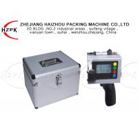 China Manual Inkjet Date Printing Machine , Handheld Inkjet Printer 1 Year Warranty on sale