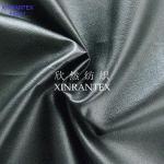 F6051 falsificam revestimento 100% do lamilation do plutônio da camurça da fibra do poliéster de couro da tela o micro para o revestimento
