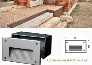 China Waterproof Outdoor Recessed LED Wall Lights ,3W Decoration LED Step Light on sale