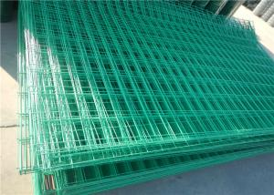 China High Security Galvanized / Pvc Coated Welded Wire Mesh Panels For Garden on sale