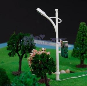 China model street light road lamp light pole Lamppost Column for architectural model railway on sale
