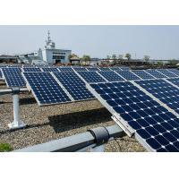 China Multifunction Mono Solar Panels 19.5 % Cell Efficiency Apply To Street Light on sale