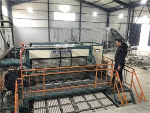 China Molded Pulp Egg Tray Machine Big Capacity Fully Automatic Rotary Type on sale