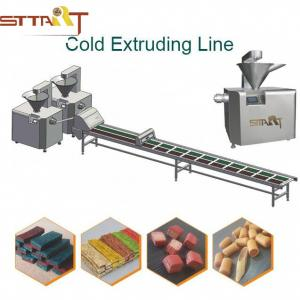 China High Performance Pet Food Processing Machinery With Fault Display Function on sale