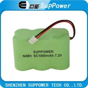China nimh battery /nimh  battery pack  SC1 800mAh 7.2v on sale