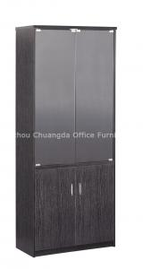 China Painting black glass Wooden Storage Cabinets CD-2216 ( 800W*400D*2000H ) on sale