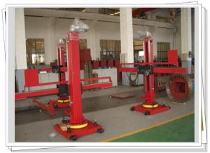 China Movable Rotary Welding Manipulator Turntable With FCAW Welding Machine on sale