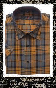 China 2012 New Design Plaid Men Shirt on sale