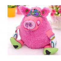 12 inch stuffed plush Pet Dog Toys pink pig shaped eco-friendly