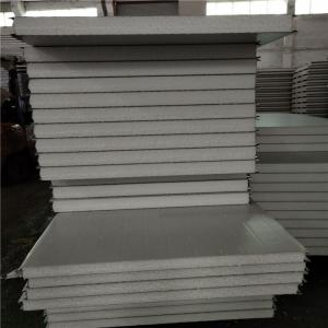 China moisture proof 50mm eps wall sandwich panel with 0.426mm for prefab buildings on sale