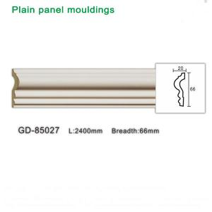 China Newly PU plain panel moulding lastest building finishing material wholesale