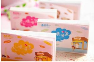 China Cute Animal Memo It Sticker Paste Bookmark Index Tab Pads Flags Sticky Notes on sale
