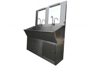 China Medical Stainless Steel Clean Room Equipments / Hospital Surgical Scrub Sink on sale