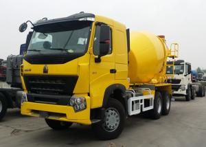 China Sinotruk HOWO A7 Concrete Mixer Truck 9 Cubic Meter Tank Size 10 Wheels on sale