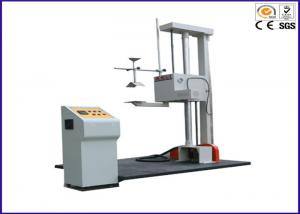 China Single Wing Carton Drop Test Equipment , Package Carton Box Drop Impact Testing Machine on sale