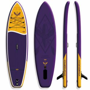 Inflatable All Around Paddle Board , Flat Water / Surf Lightweight Paddle Boards