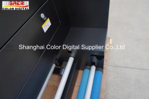 China Dual CMYK Large Size Heat Print Machine Combine Piezo Printers For Fabric on sale