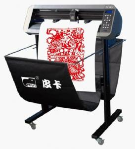 China Low Noise Contour Vinyl Graphics Cutter Plotter With ARM SOPC Controller For Traffic Sign on sale