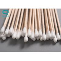 Industrial Grade Cotton Cleaning Swabs With Inherently Polymer Handle