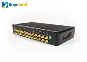 China 24 Ports Long Range UHF RFID Reader Max Reading 20m Based On Linux OS 400 Times / S on sale
