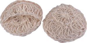 China 100% Natural Sisal Bath Scrubber Sponge Silkier Skin Bath Body Scrubber on sale