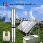 système solaire de pompe à eau de l'agriculture 4Inch avec le panneau solaire et le contrôleur