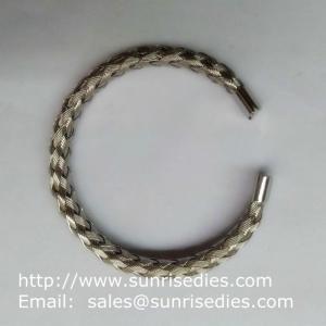 China провод нержавеющей стали 304 заплел банле, оптовую продажу браслета провода нержавеющей стали запаса on sale