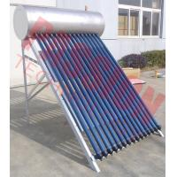 China Stainless Steel Anti Freezing Heat Pipe Solar Water Heater With Intelligent Controller on sale
