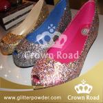 靴の装飾のための1/24粒のきらめきの粉