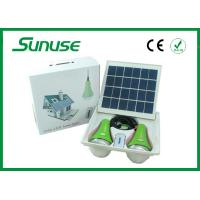 high brightness portable Solar Home Lighting System with SANYO lithium battery