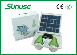China high brightness portable Solar Home Lighting System with SANYO lithium battery on sale