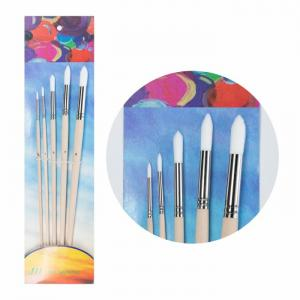 China ISO 9001 Copper Ferrule 9# Oil Painting Brush Set on sale