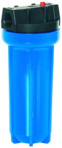 China White Drinking Water Clear Filter Housing , Domestic Water Purifier Sediment Filter Housing on sale