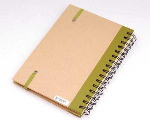 China kraft paper cover recycled paper notepad_China printing factory on sale