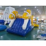 Exciting Nimo Theme Aqua Run Inflatables / Blow Up Water Obstacle Course