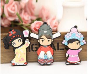 China high speed lovely PVC cartoon usb flash drive 2.0 flash storage 1GB 2GB 4GB 8GB 16GB 32GB on sale