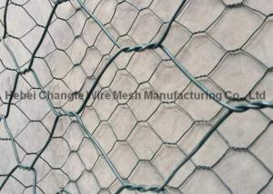 China Hot Dipped Galvanized Gabion Wire Mesh Double - Twisted For Retaining Wall 2 X 1 X 1m on sale