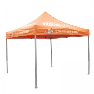 China Promotion 10X10 Pop Up Display Tents , Heavy Duty Portable Outdoor Canopy on sale