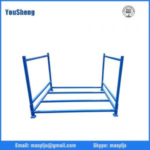 China Collapsible tyre Stillages Foldable and stackable stillage stacking rack (L1140*W1140 mm/OEM) on sale