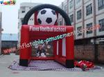China Durable PVC tarpaulin Inflatable Football field Fun Sports Games for Rent wholesale