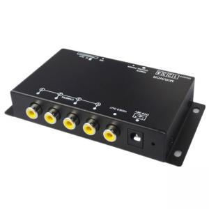 China High Definition Mobile DVR 4 Channel , Night Vision Driving Parking Car DVR System on sale