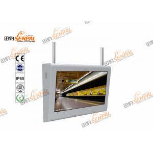China 46'' Touch Screen Horizontal Wall Mount LCD Monitor , Outdoor LCD Advertising Display on sale
