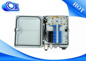 China FTTH 12 Core Optical Fiber Patch Panel (PC+ABS) Fiber Optical Distribution Box on sale