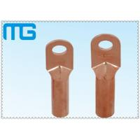 Connecting Terminals Cable Terminal Lugs , DT Crimping Types Copper Crimp Lugs